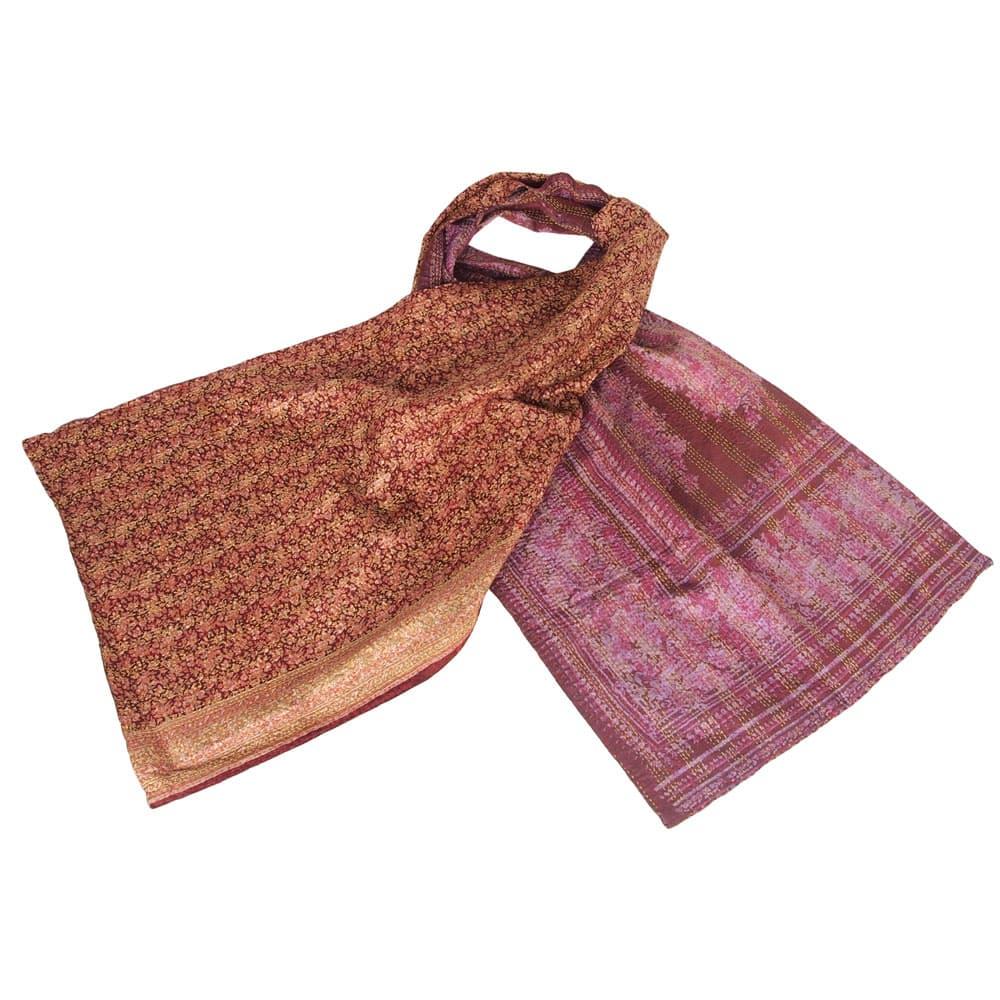 sjaal eerlijk geproduceerd zijde barai fair trade