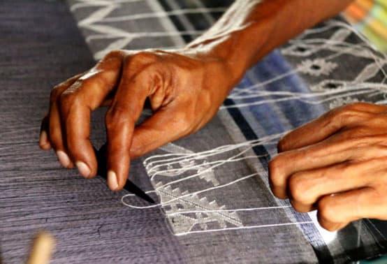 dhakai jamdani weaving