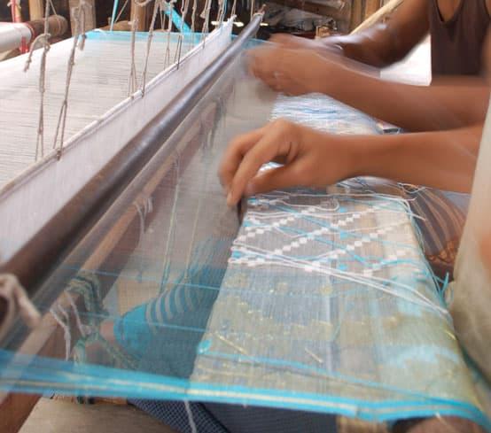 jamdani weaving loom