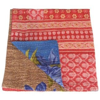 kantha quilt small ghara coverlet