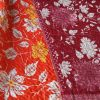 kantha sari deken zijde ksamata handgemaakt