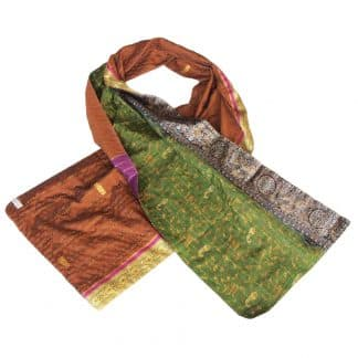 ladies scarf silk taru