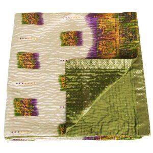 zijden plaid roma kantha deken