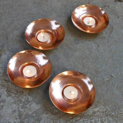 circle of light copper