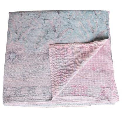 kantha sprei pata sari deken