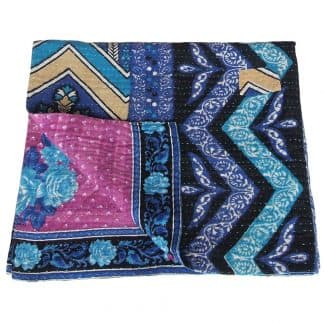 baby bed blanket cotton manira kantha