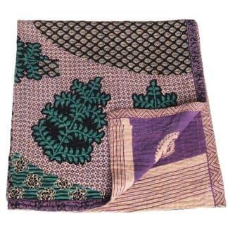 mini kantha blanket rumi sari