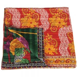 sari coverlet josna recycled