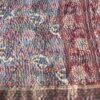 kantha scarf silk sari lilapa india