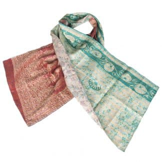 kantha shawl patola india ethical fashion