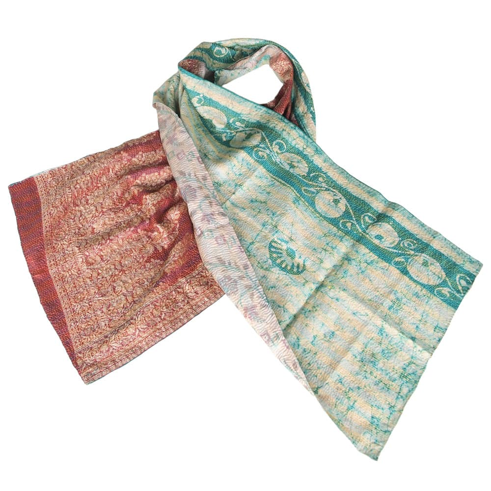 kantha scarf patola india fair fashion