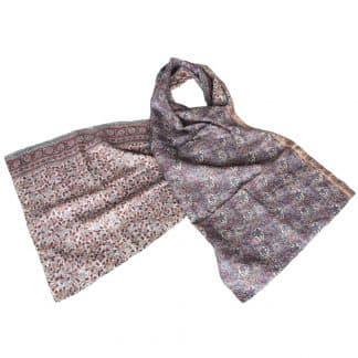 kantha scarf silk sari lilapa fair fashion