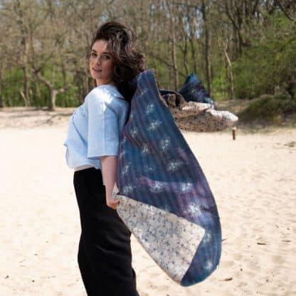 exclusieve sjaal zijde sari balu eerlijk