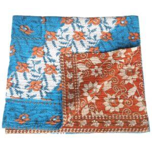 kantha sari blanket maya