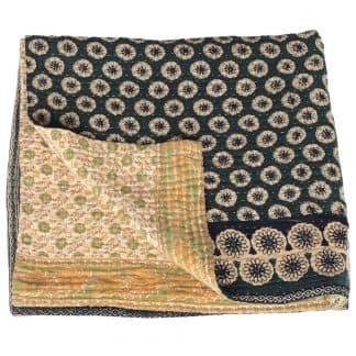 kantha quilt cotton lija