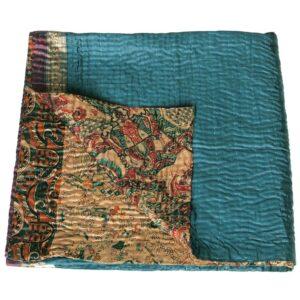 kantha quilt silk jaynti