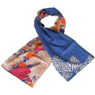 sjaal upcyclede sari ranina