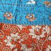 upcycled kantha sari deken maya