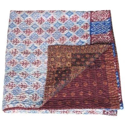 zijden sari kantha plaid swapna
