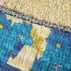 kantha sari deken nila handgemaakt