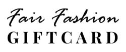 logo fair fashion giftcard