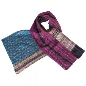 sustainable scarf silk kalina