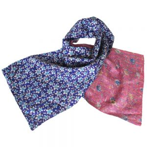 ethical scarf kantha silk tara fair trade