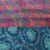 handgemaakte zijden sjaal hergebruikte sari sindhu