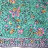 zijden sjaal kantha pensila gerecyclede sari