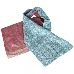 exclusive scarf silk sari lara ethical fashion