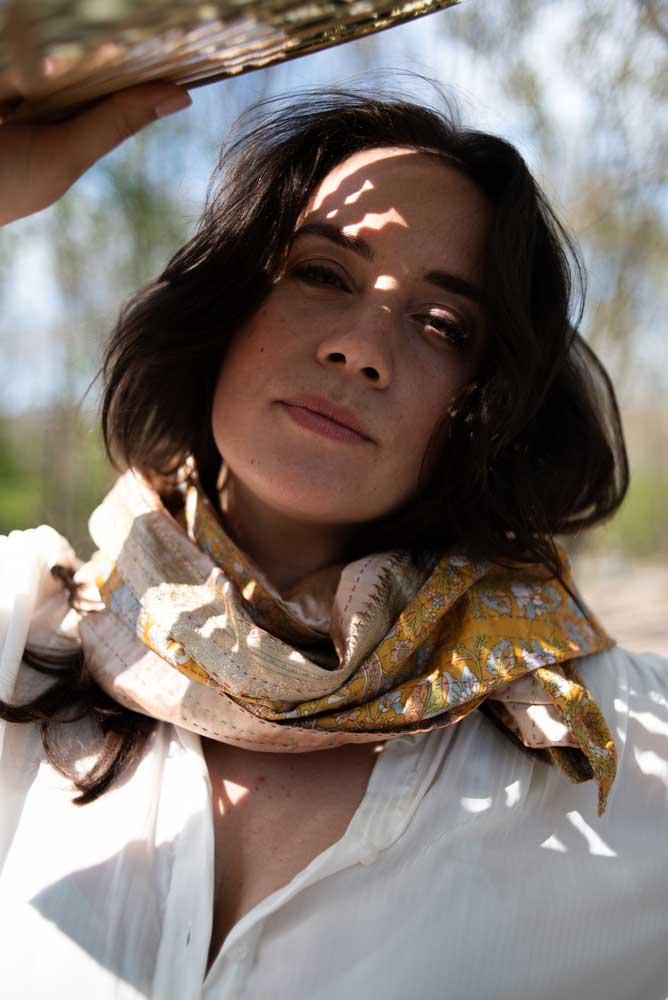 lookbook tulsi crafts eerlijke sjaal