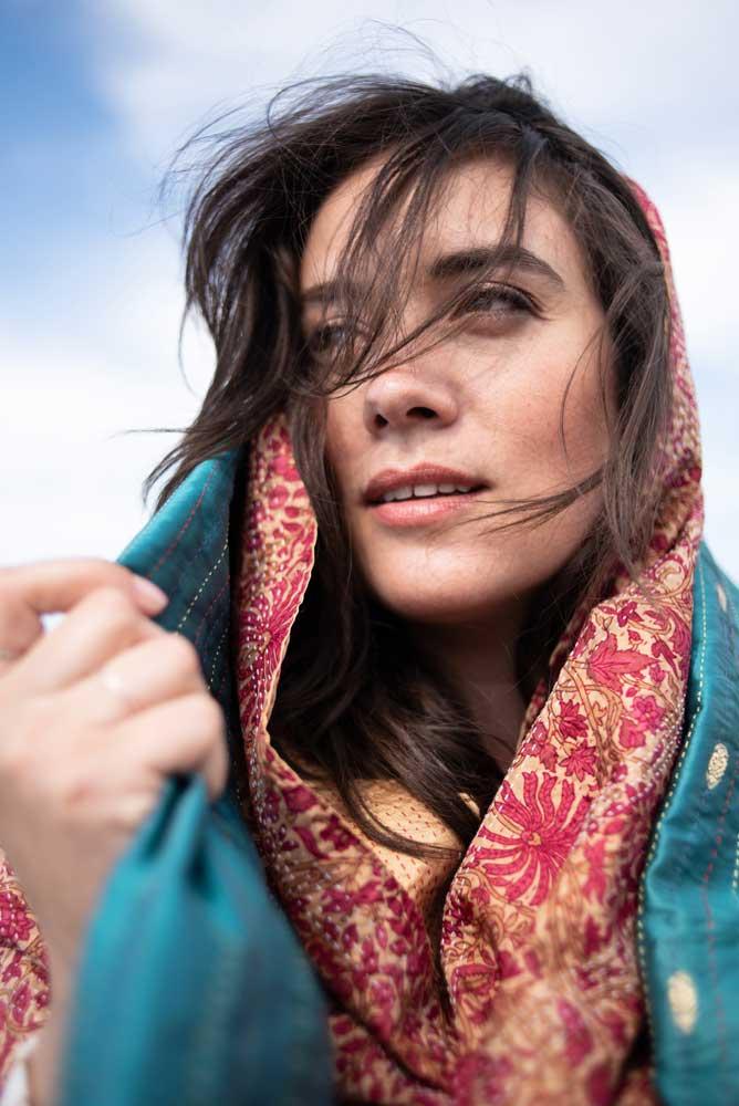 lookbook tulsi crafts eerlijke sjaals