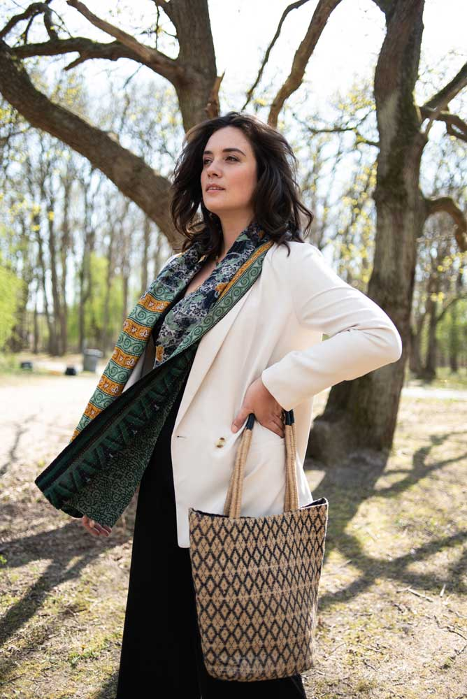 lookbook tulsi crafts fair trade tassen sjaals