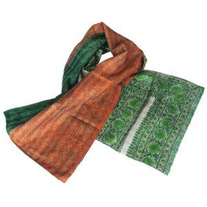 zijden sjaal kantha sonali